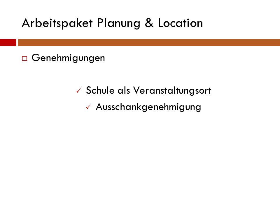 Arbeitspaket Planung & Location  Guter Zweck Blauer Elefant in Landau