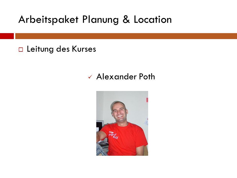 Arbeitspaket F&B  Suche nach Koch Nikolas Dorst (FSH 13)