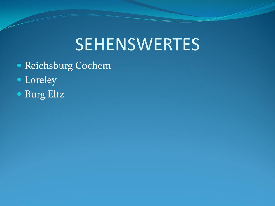 Reichsburg Cochem Eine der vielen Burgen ist die Reichsburg Cochem.