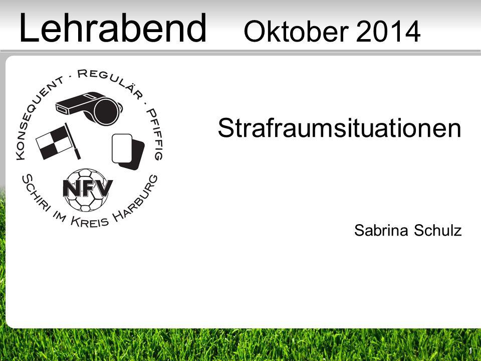 1 Strafraumsituationen Sabrina Schulz Lehrabend Oktober 2014