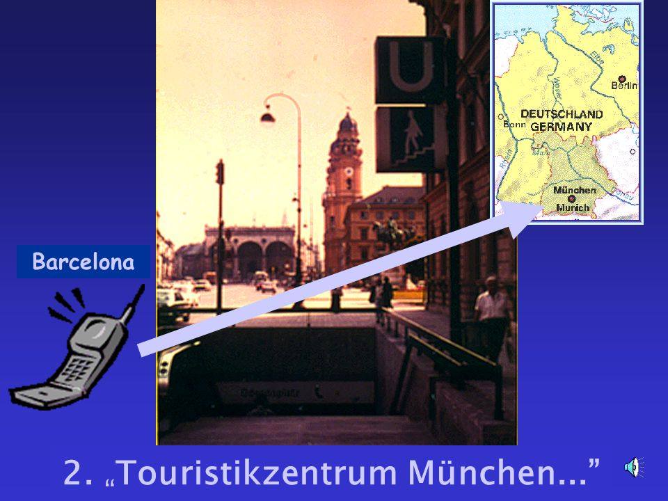 "2. "" Touristikzentrum München..."" Barcelona"