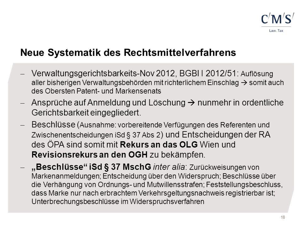 Neue Systematik des Rechtsmittelverfahrens  Verwaltungsgerichtsbarkeits-Nov 2012, BGBl I 2012/51: Auflösung aller bisherigen Verwaltungsbehörden mit
