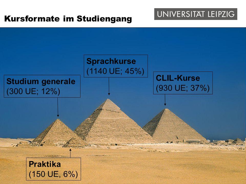 Integrierte Inhalts- und Sprachkurse ab dem 2.