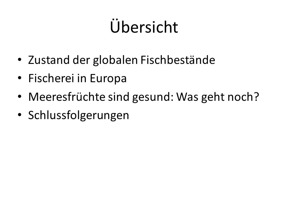 Der globale Fischereiaufwand steigt Pauly and Froese, 2012