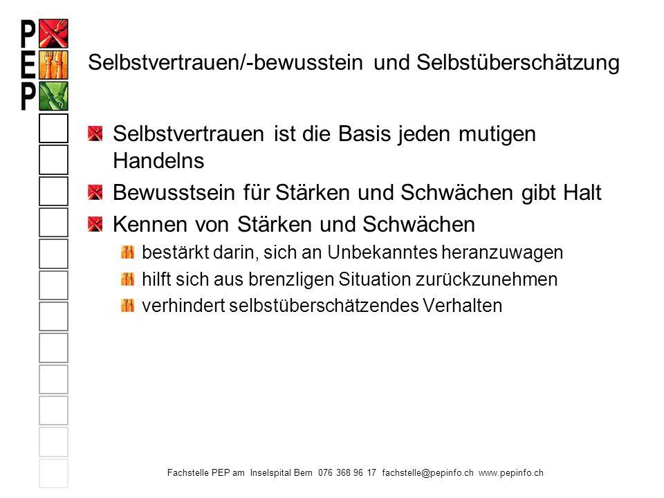 Fachstelle PEP am Inselspital Bern 076 368 96 17 fachstelle@pepinfo.ch www.pepinfo.ch Wir danken Ihnen für Ihre Aufmerksamkeit und stehe Ihnen für Fragen gerne noch zur Verfügung