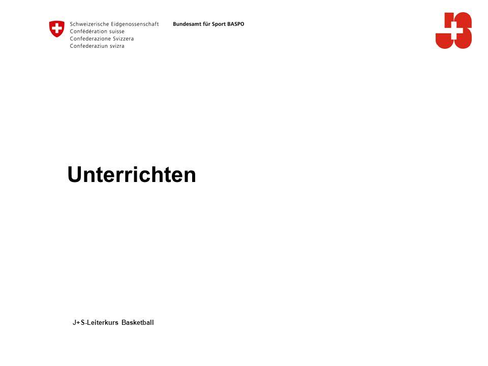 12 Bundesamt für Sport BASPO Jugend+Sport 7.Konsequenzen für die Praxis – Korrigieren, beraten (weiter) Wann korrigieren.