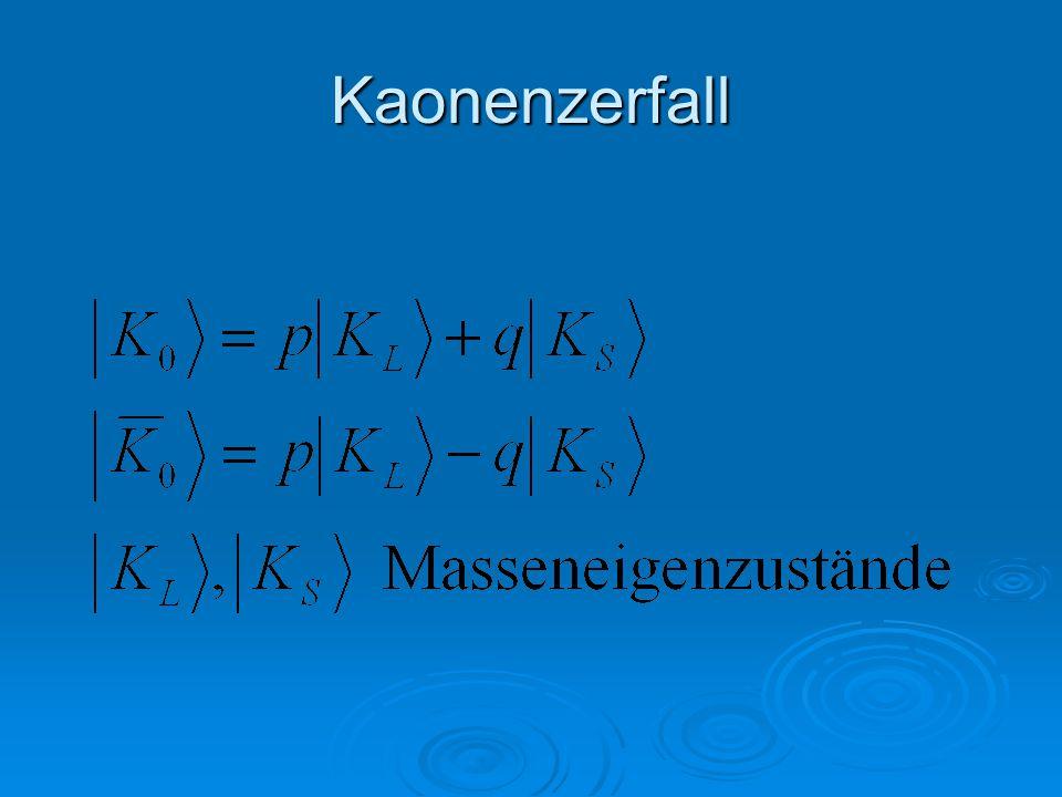 B-Oszillation   1/  = 0,71  ps    m=0,507±0,005 ps -1   m <    nur geringer Effekt!