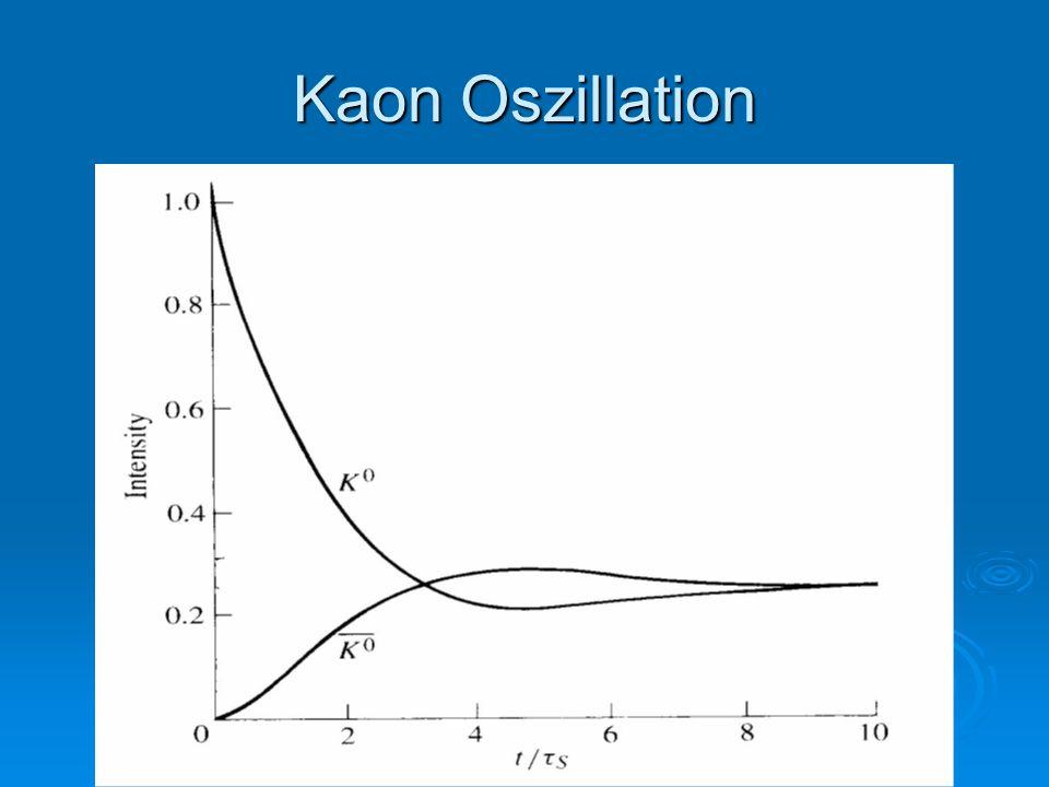 Kaon Oszillation