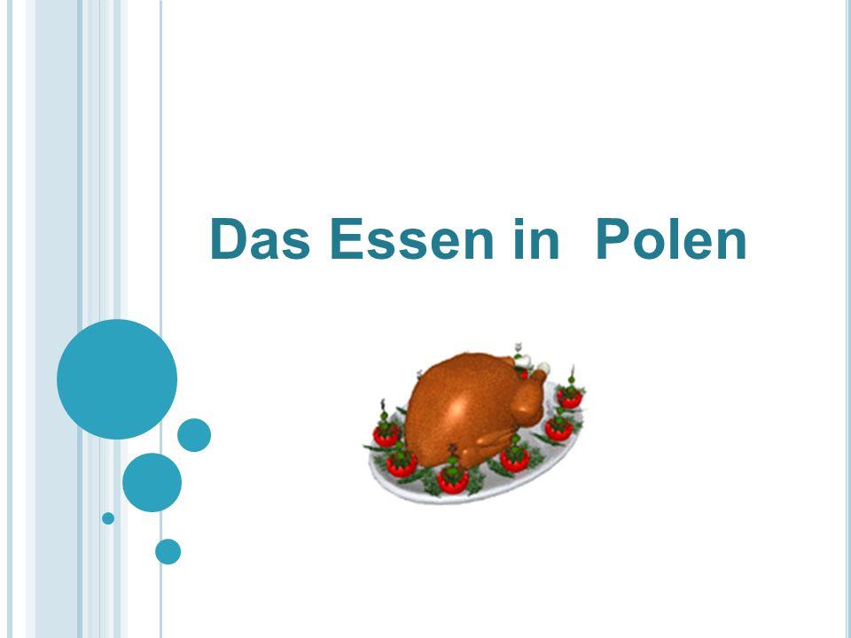 Das Essen in Polen