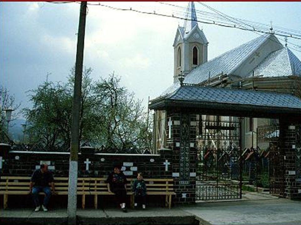 Dieser Friedhof in Sapanta aber nennt sich zu Recht der Friedhof der lustigen Toten.
