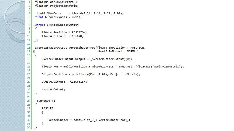 Spiegelung: Transformationsmatrix: D3DXMatrixReflect Culling-Modus umkehren: D3DCULL_CCW auf D3DCULL_CW Spiegelung der sichtbaren Objekte und Lichtquellen Alpha-Kanal des Render-Targets: Entfernung des Pixels zur Wasseroberfläche