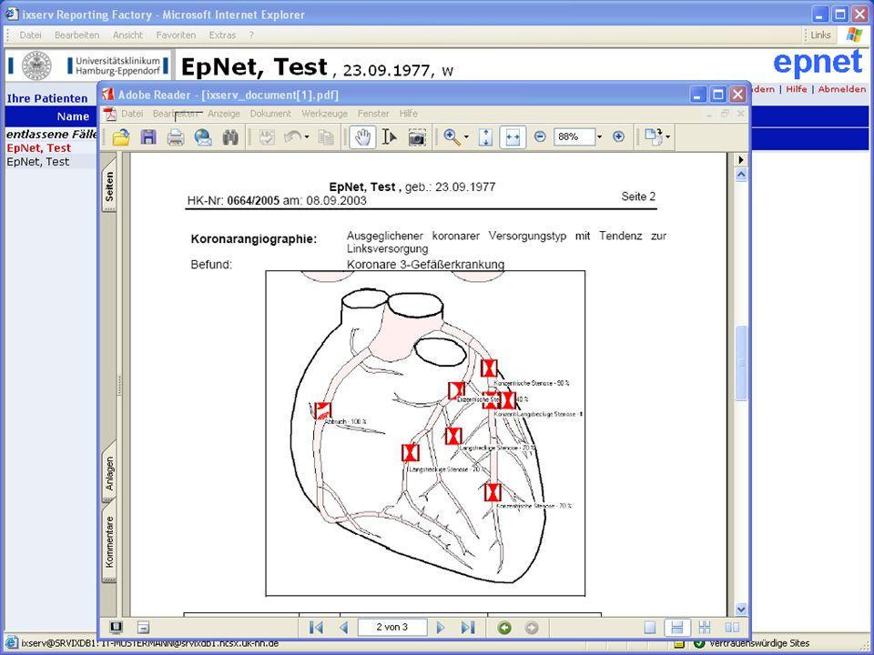 Ausblick Portal: Partner Termine Dokumente  Informationen Portal: Patienten Termine Dokumente  Formulare