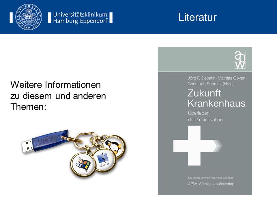 Literatur Weitere Informationen zu diesem und anderen Themen: