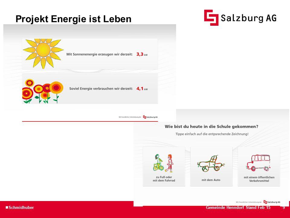 10 Projekt Energie ist Leben SchmidhuberGemeinde Henndorf Stand Feb 15