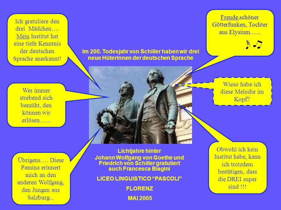 Elena Barbugli IV D Pamina La Mantia V C Sonia Maggiorelli V B Wir haben es geschafft! Wir haben die Zentrale Mittelstufenprüfung (ZMP->Niveau C 1 ) b