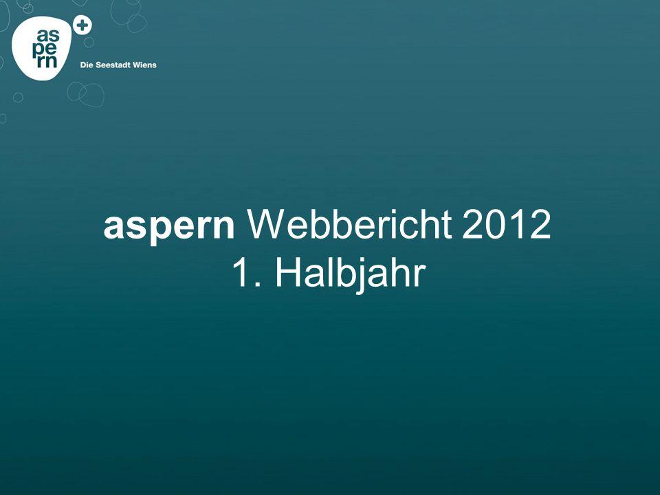 aspern Webbericht 2012 1. Halbjahr
