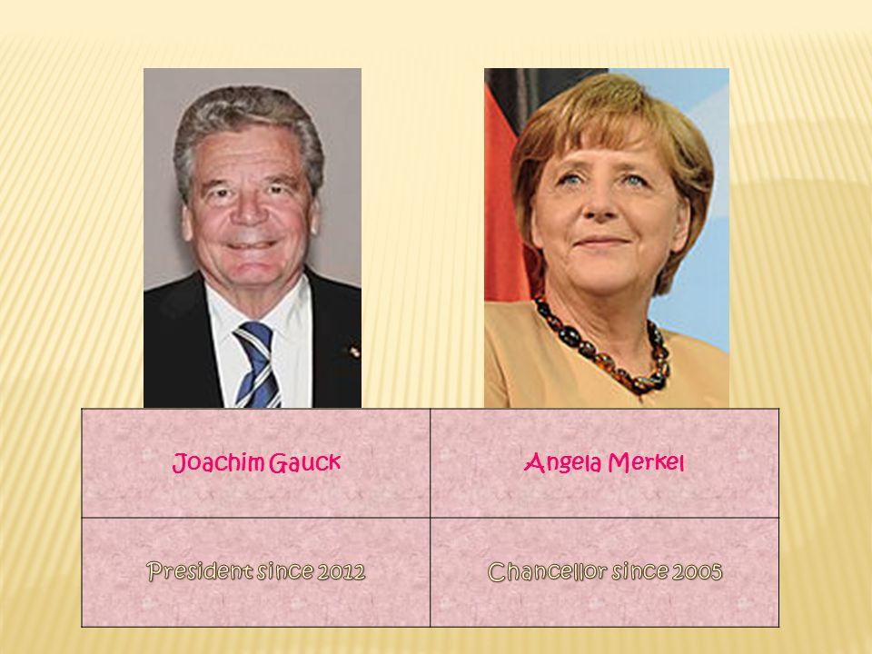 Joachim GauckAngela Merkel