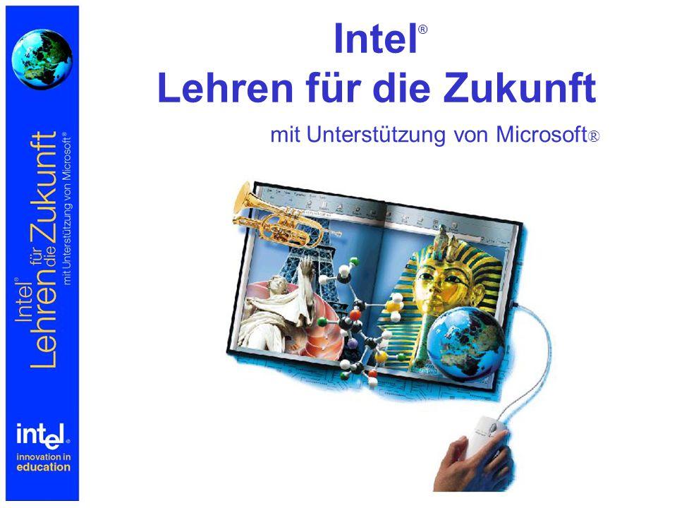 Intel ® Lehren für die Zukunft mit Unterstützung von Microsoft ®