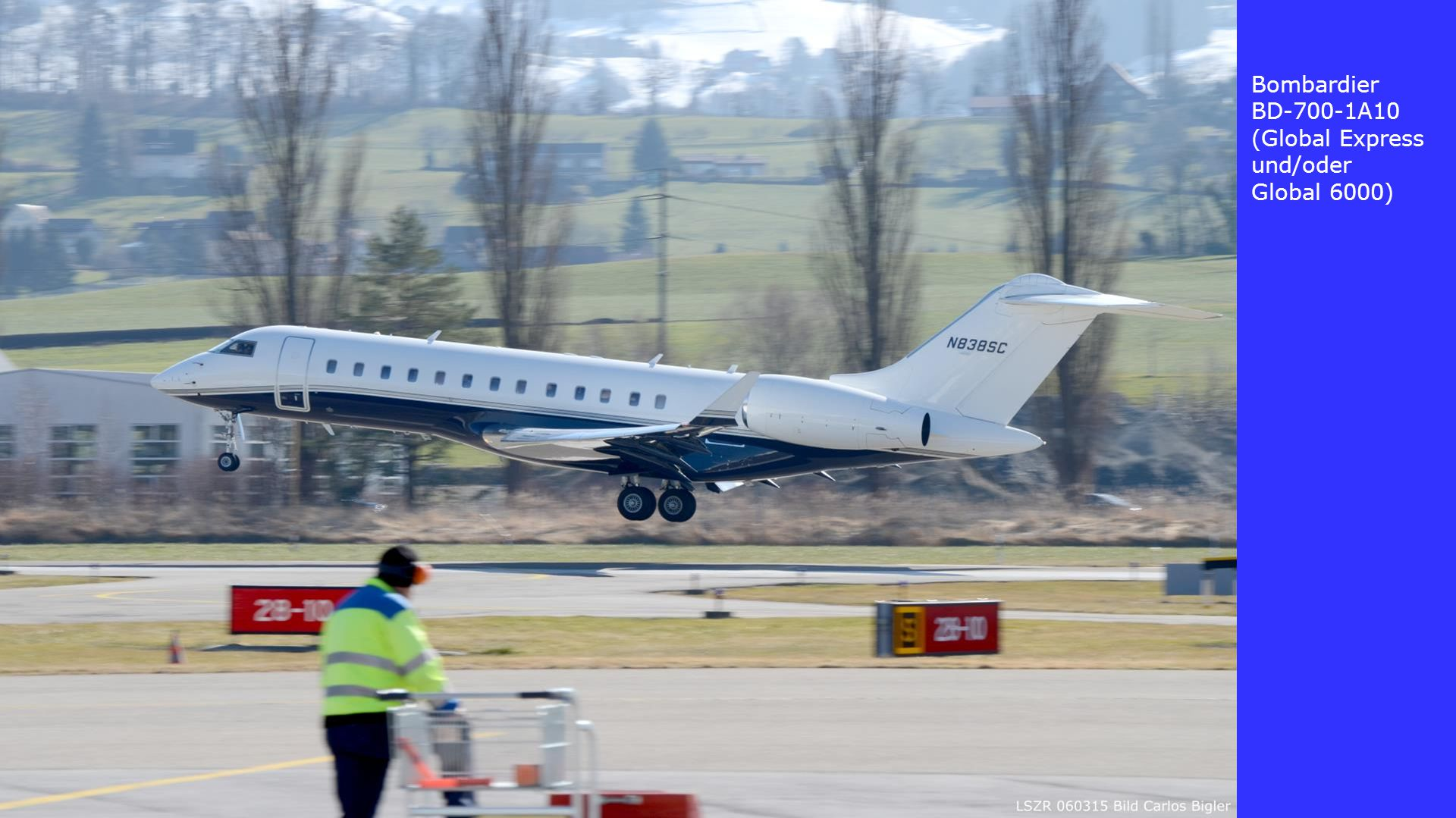 Bombardier BD-700-1A10 (Global Express und/oder Global 6000)