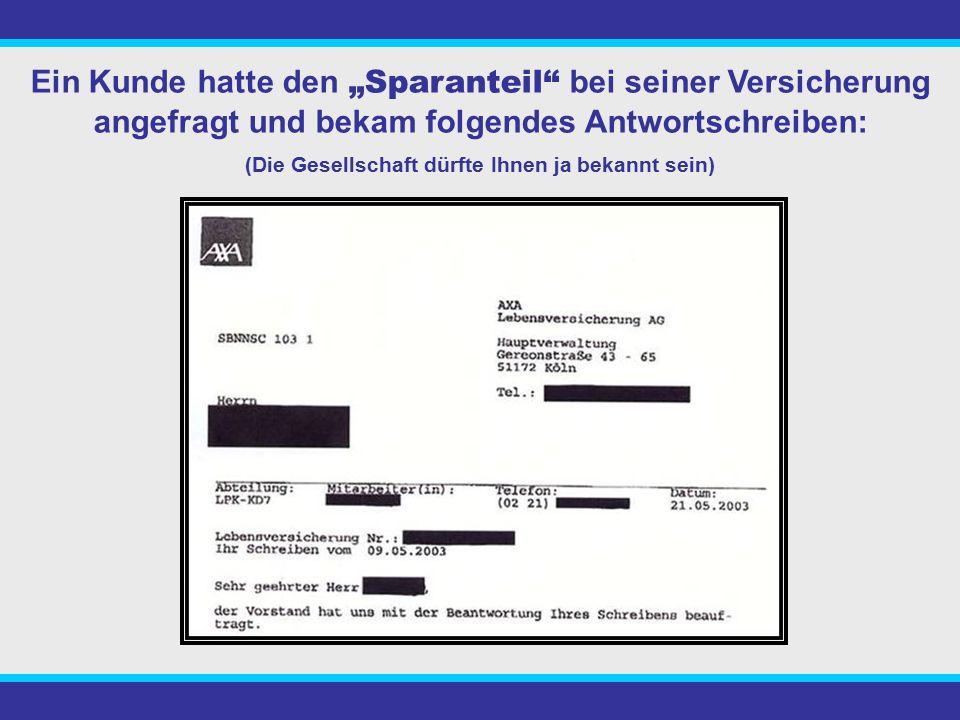 Der Kunde zahlte jeden Monat 127,83€ in eine Kapitallebensversicherung mit Berufsunfähigkeitrente. Die BU-Rente kostet anteilig im Monat 60,85€. Es fl