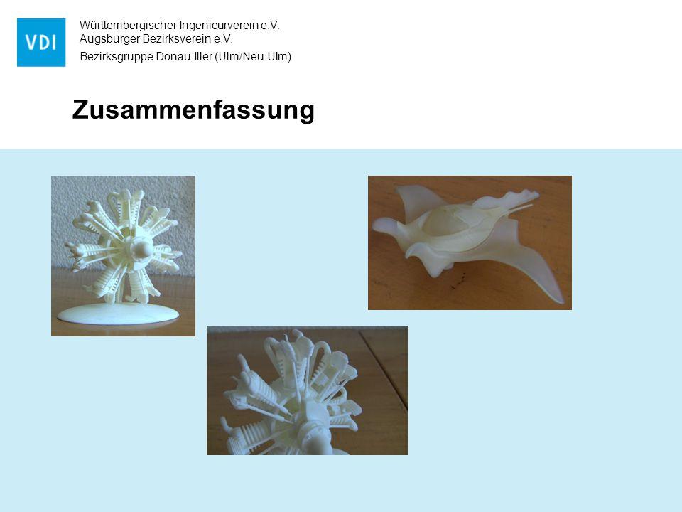 Württembergischer Ingenieurverein e.V. Augsburger Bezirksverein e.V. Bezirksgruppe Donau-Iller (Ulm/Neu-Ulm) Zusammenfassung