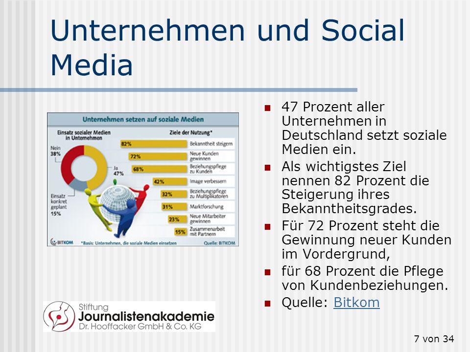 6 von 34 Beispiel Twitter: Weltweit: Die über 500 Millionen Twitter- User produzieren mittlerweile ebenso viele Tweets pro Tag. Twitter-CEO Dick Costo