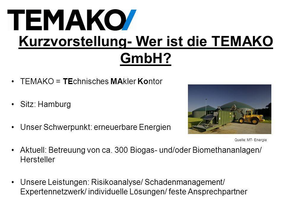 Kurzvorstellung- Wer ist die TEMAKO GmbH.