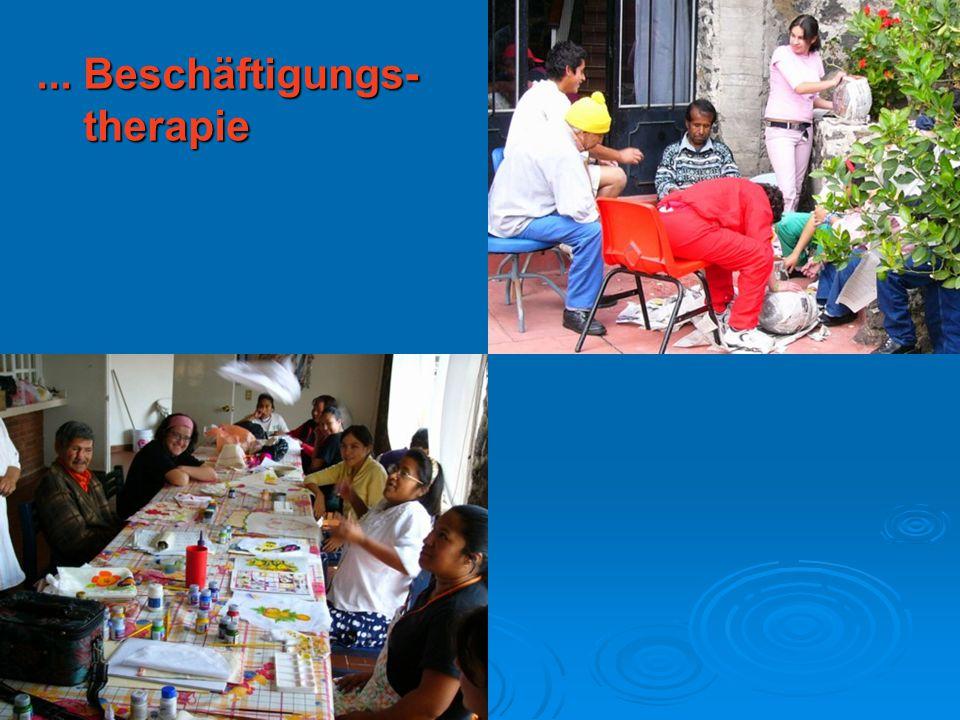 ... Beschäftigungs- therapie therapie