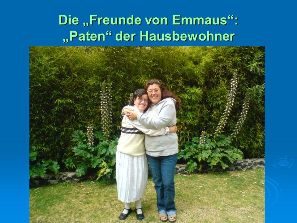 """Die """"Freunde von Emmaus"""": """"Paten"""" der Hausbewohner"""