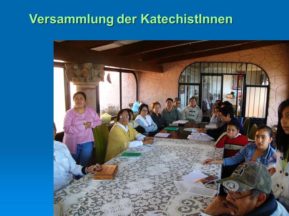 Versammlung der KatechistInnen