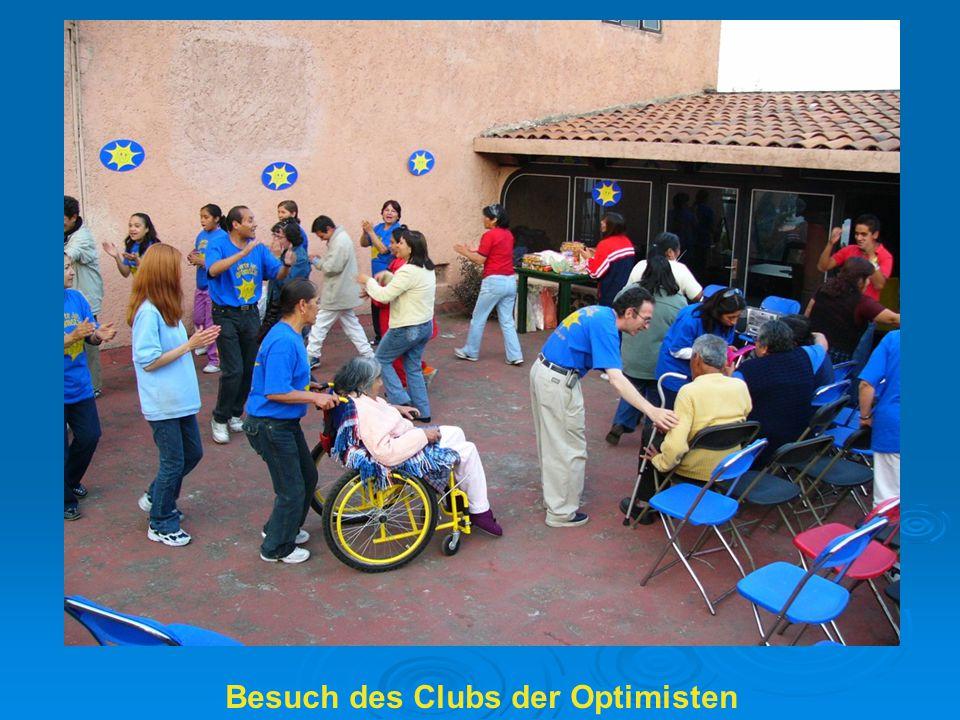 Besuch des Clubs der Optimisten