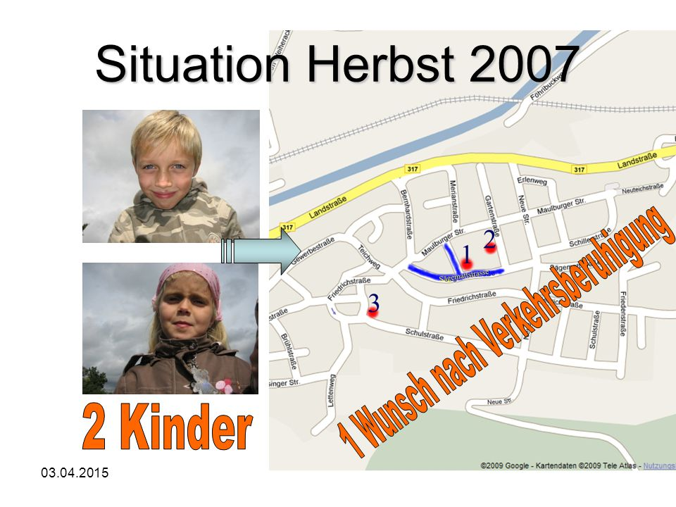 03.04.2015Jürgen Herrmann4 Situation Herbst 2007