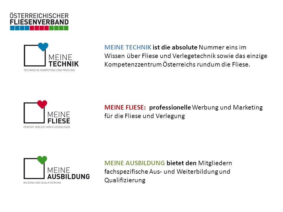 MEINE TECHNIK ist die absolute Nummer eins im Wissen über Fliese und Verlegetechnik sowie das einzige Kompetenzzentrum Österreichs rundum die Fliese.