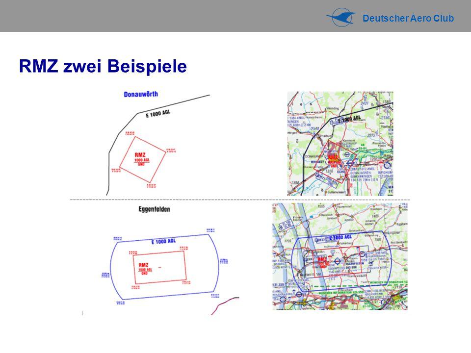 Deutscher Aero Club RMZ zwei Beispiele