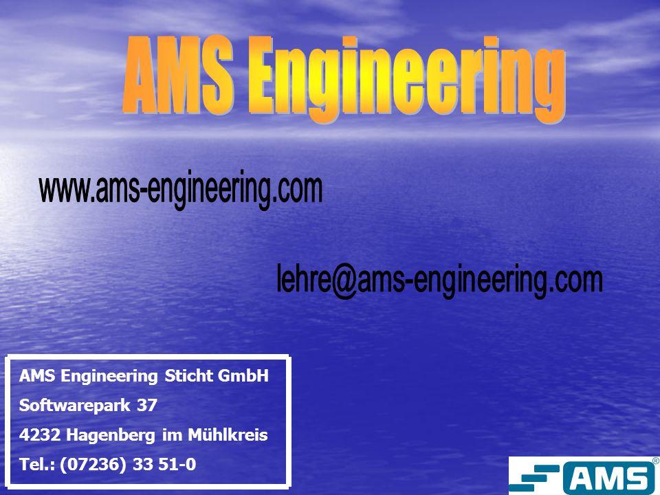 Allgemeines über die Mitarbeiter: Die AMS Engineering beschäftigt stolze 105 Mitarbeiter.