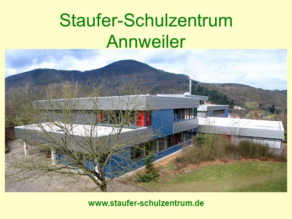 www.staufer-schulzentrum.de Staufer-Schulzentrum Annweiler