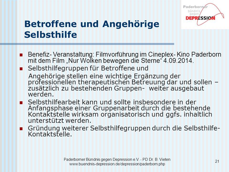21 Paderborner Bündnis gegen Depression e.V.- PD Dr.