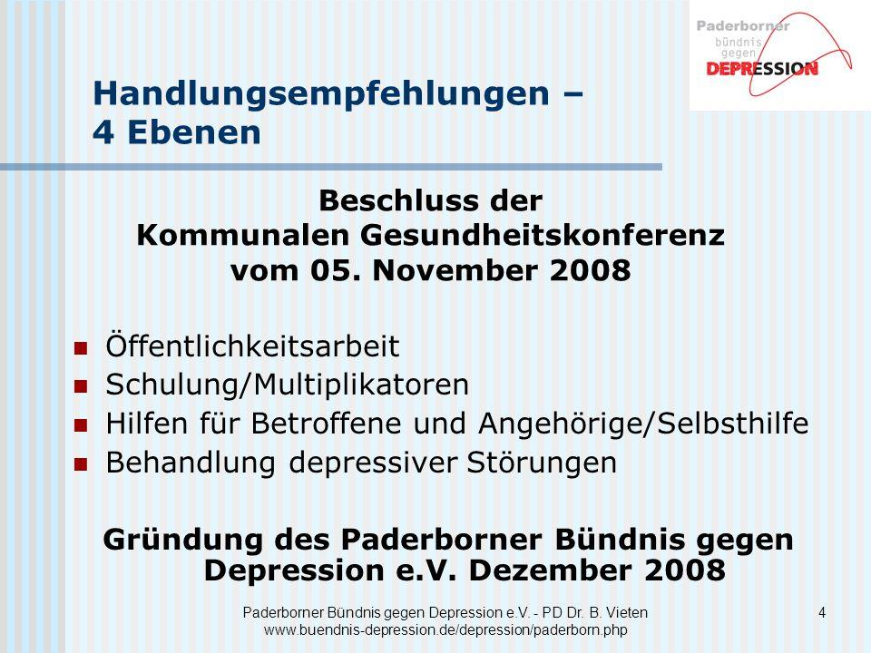 4 Paderborner Bündnis gegen Depression e.V.- PD Dr.