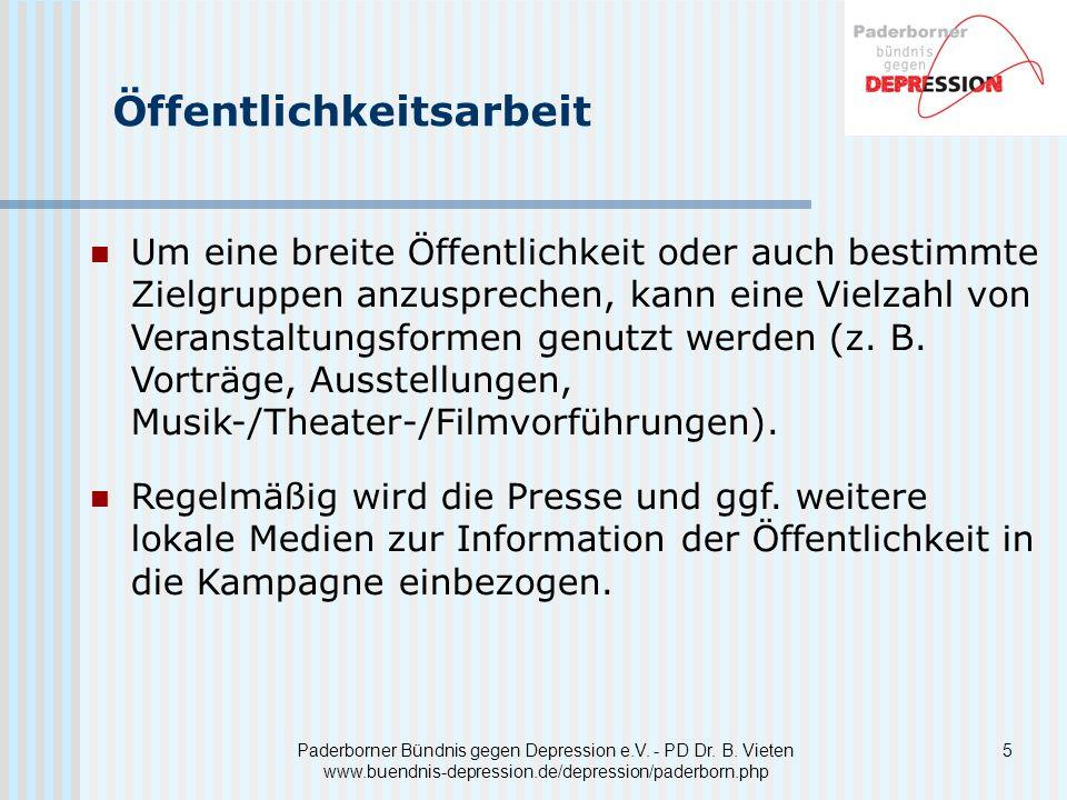 5 Paderborner Bündnis gegen Depression e.V.- PD Dr.