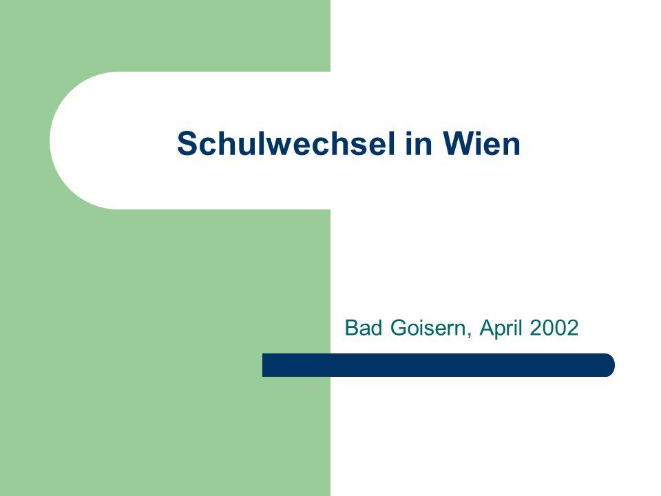 1 Umfrage – durchgeführt vom PI WIEN Überblick über 56 Schulen Welche Aktivitäten werden normalerweise in Wiener Grundschulen in der Übergangsphase eingesetzt?