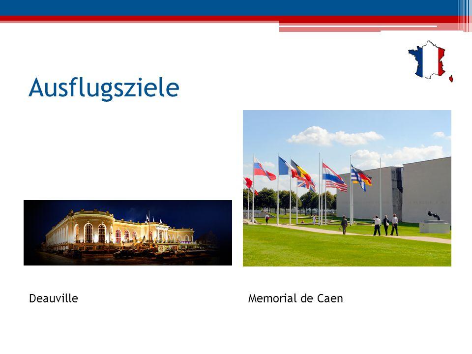 Ausflugsziele DeauvilleMemorial de Caen