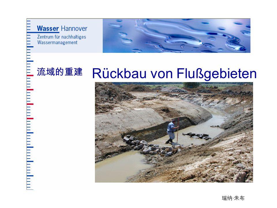瑞纳 · 朱布 Rückbau von Flußgebieten 流域的重建