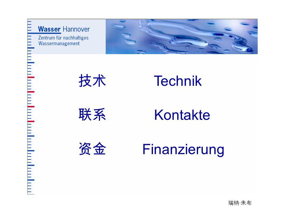 技术 Technik 联系 Kontakte 资金 Finanzierung