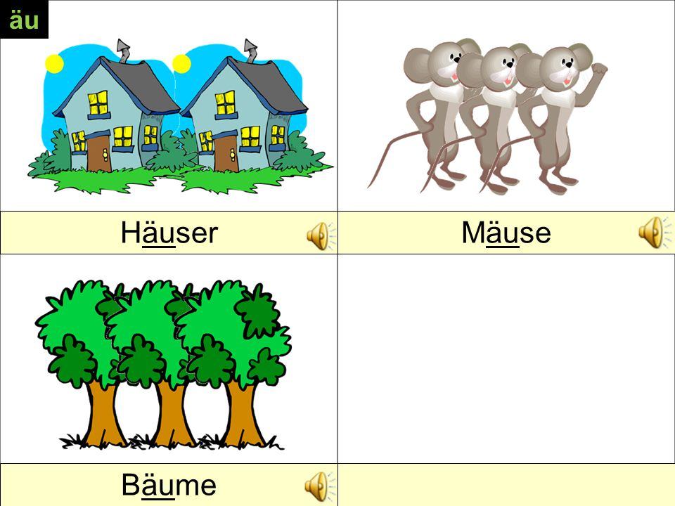 HausMaus Baum au