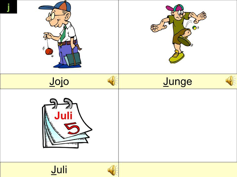 j JojoJojoJunge Juli