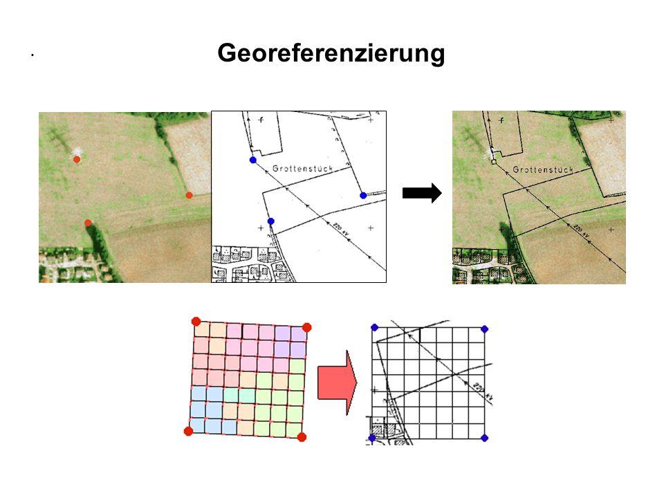 . Georeferenzierung