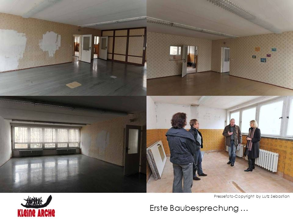Erste Baubesprechung … Pressefoto-Copyright by Lutz Sebastian
