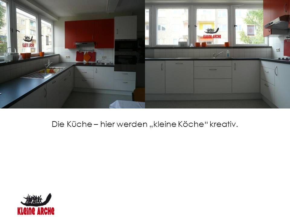 """Die Küche – hier werden """"kleine Köche"""" kreativ."""