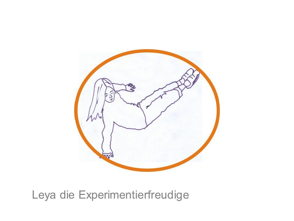 Leya die Experimentierfreudige