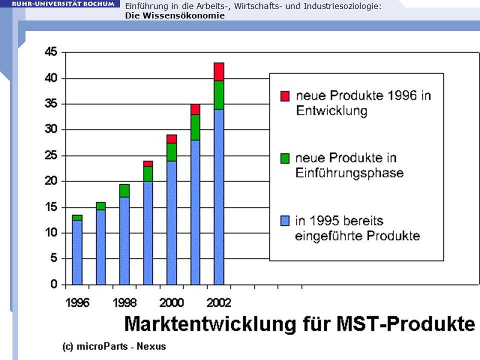 Einführung in die Arbeits-, Wirtschafts- und Industriesoziologie: Die Wissensökonomie